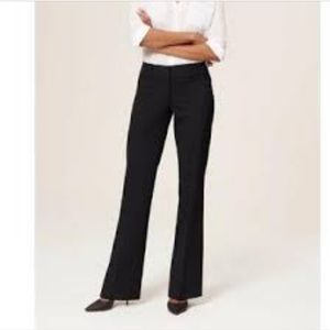 LOFT Black Julie Bootcut Trouser Pants